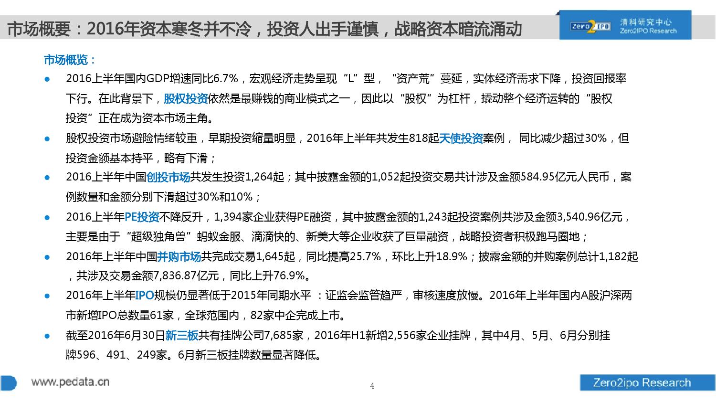 100页PPT详解2016上半年中国股权投资市场发展_000004