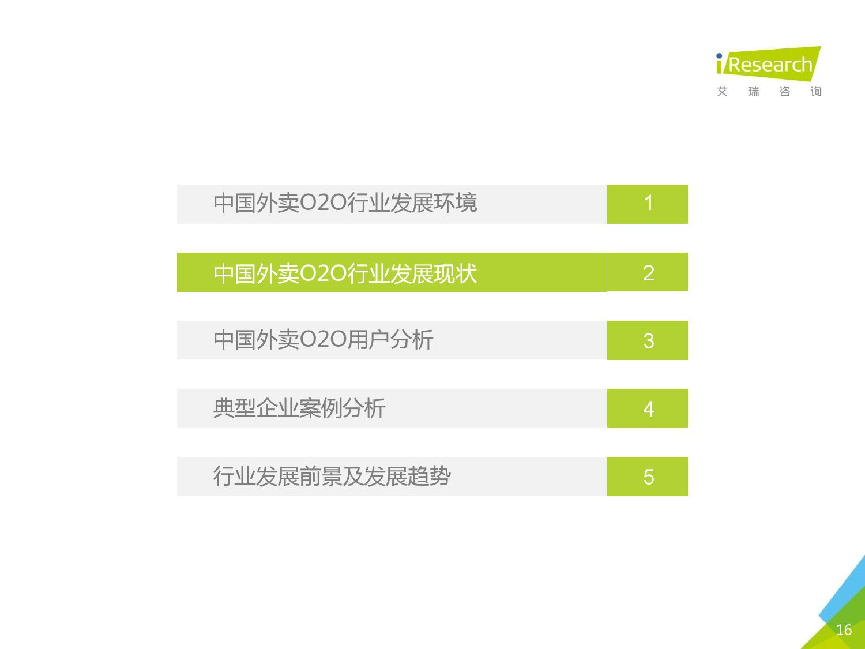2016年中国外卖O2O行业发展报告_000016