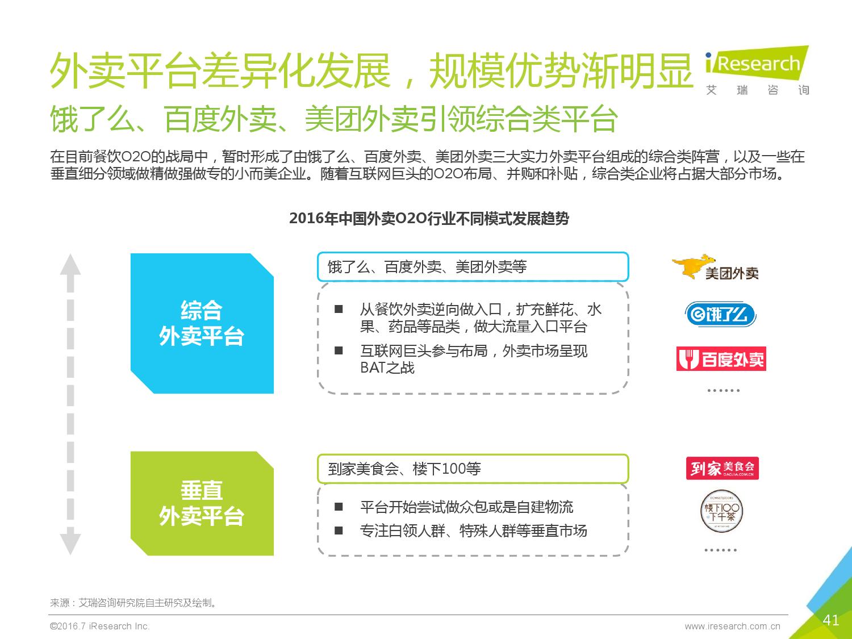 2016年中国外卖O2O行业发展报告_000041