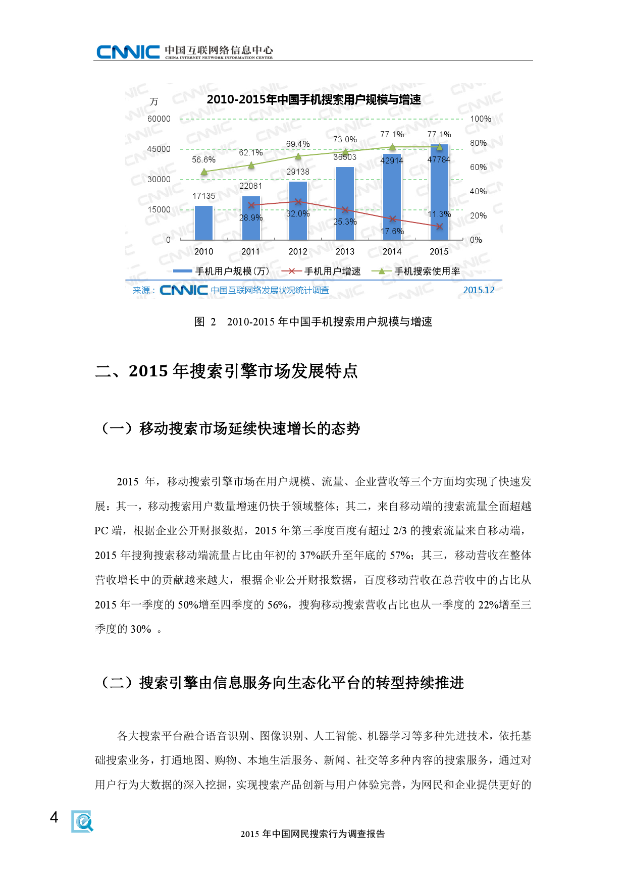 CNNIC:2015年中国网民搜索行为调查_000012