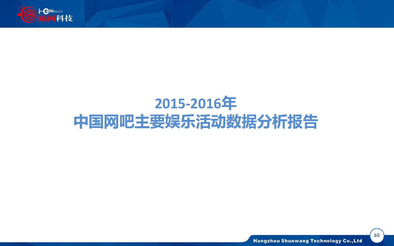 2015-2016年中国网吧行业顺网大数据报告蓝皮书_000061