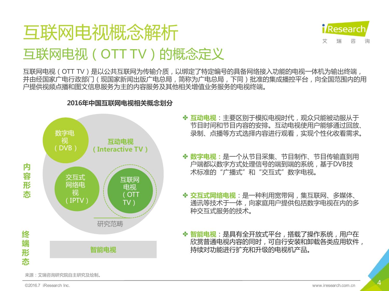 2016年中国互联网电视行业研究报告_000004