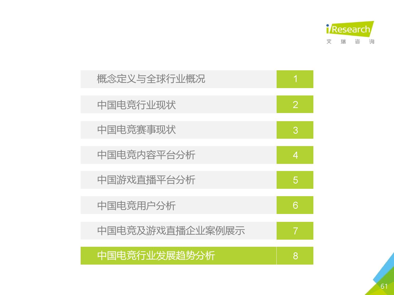 2016年中国电子竞技及游戏直播行业研究报告_000061