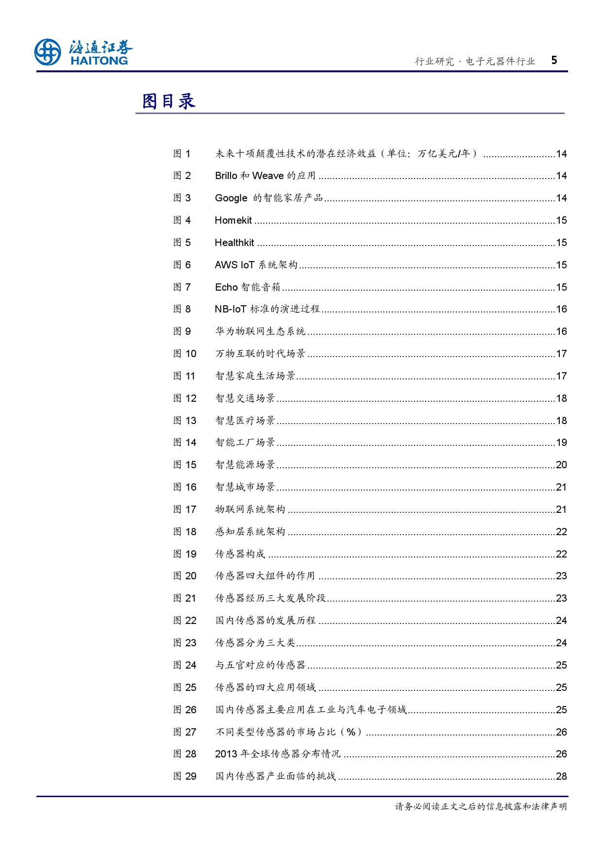 报告全解传感器全球产业链_000005