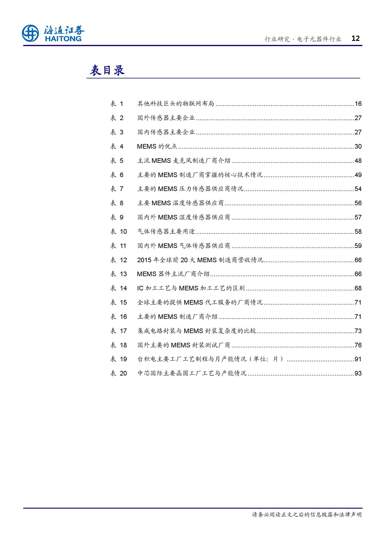 报告全解传感器全球产业链_000012