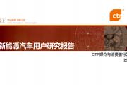 CTR:新能源汽车用户研究报告(附下载)
