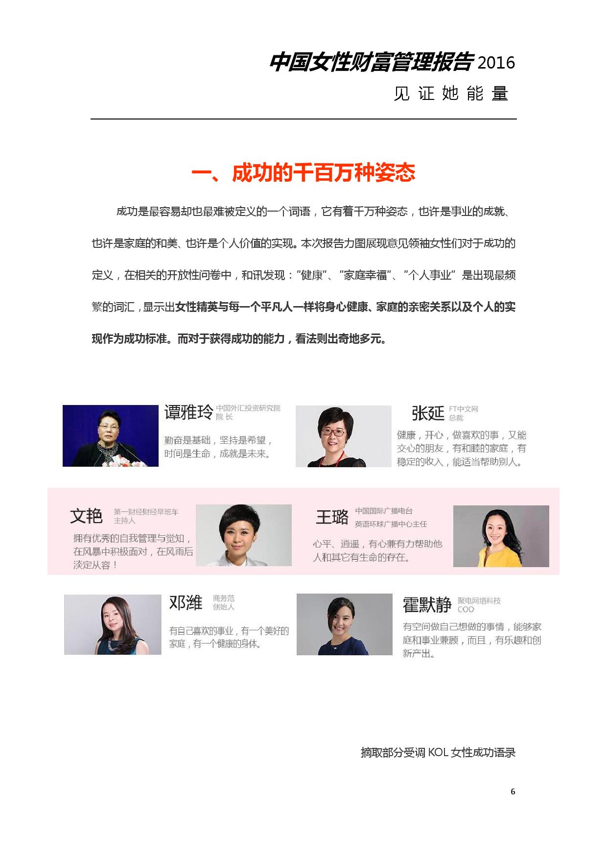 2016年中国女性财富管理报告_000006
