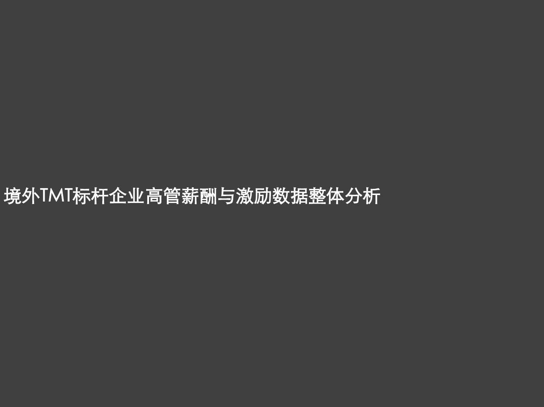 2016年境外TMT标杆企业高管薪酬与激励调研报告_000004
