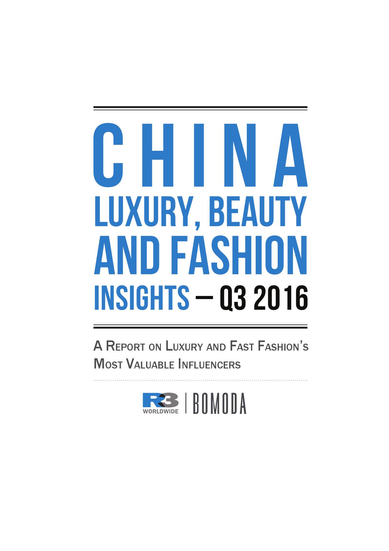 China Luxury, Beauty and Fashion Insights_000001