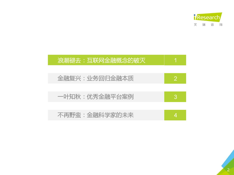 艾瑞咨询:2016年中国互联网金融发展报告