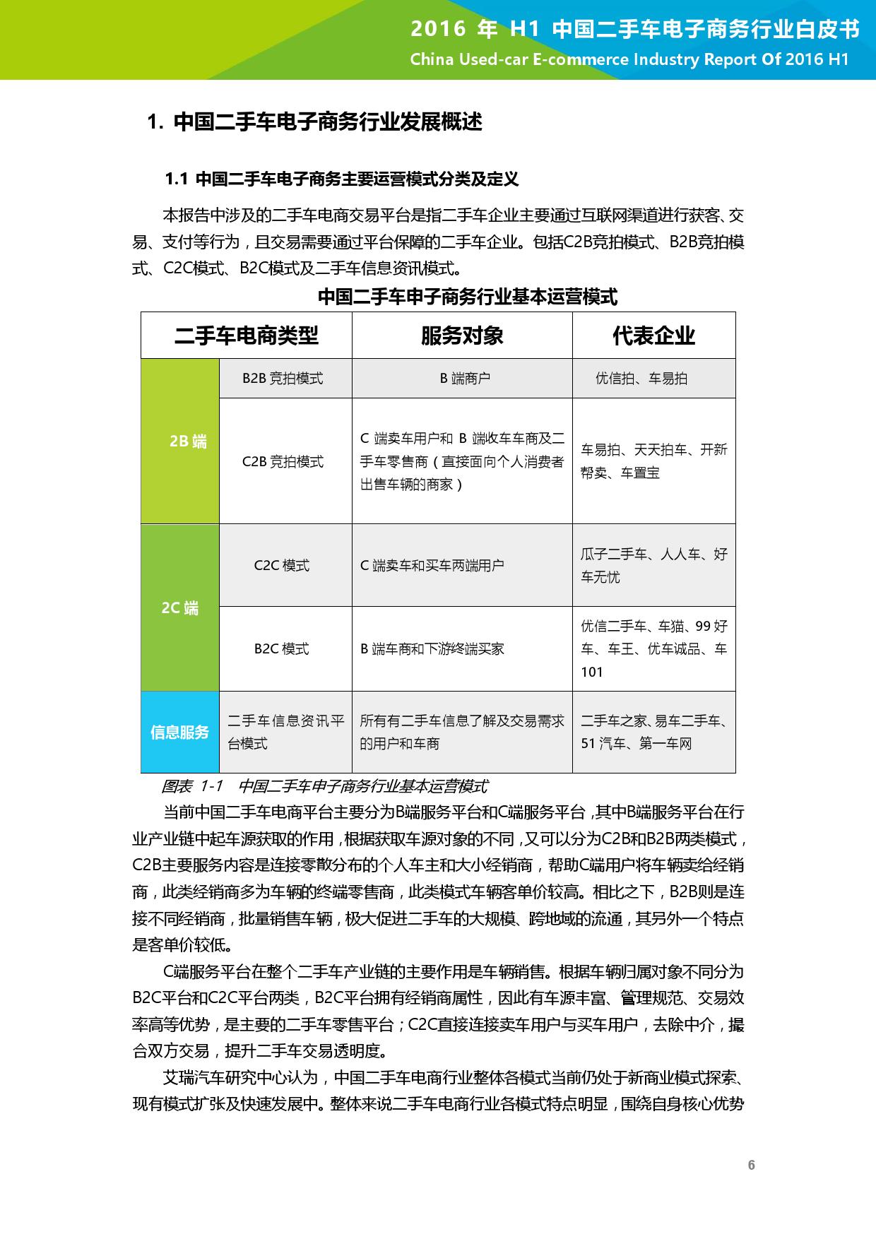 2016年H1中国二手车电子商务行业白皮书_000007