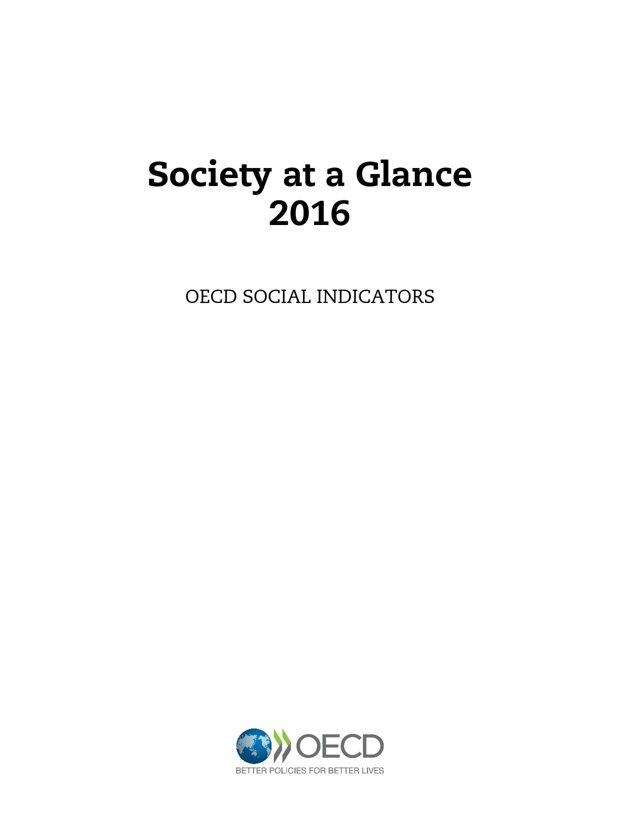 2016年OECD国家社会概览报告_000003