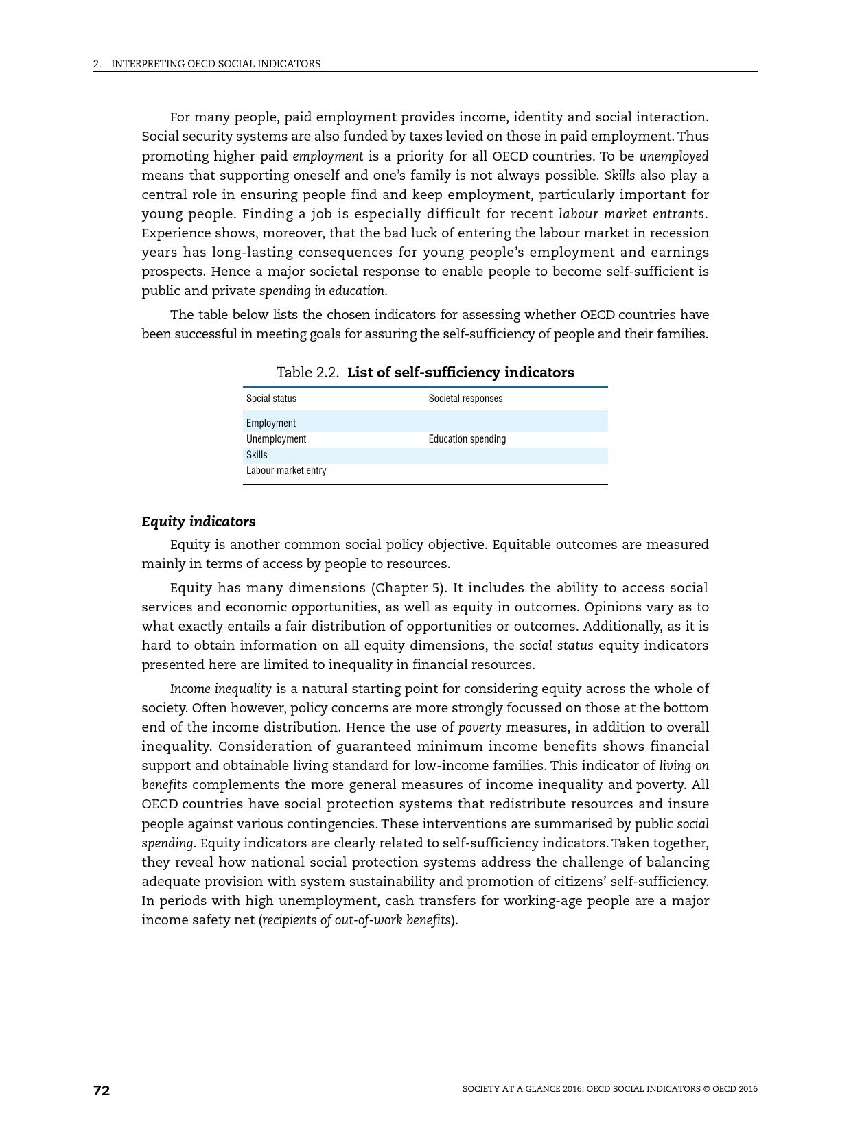 2016年OECD国家社会概览报告_000074