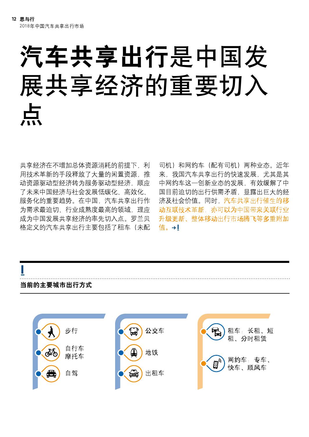 2018年中国汽车共享出行市场分析预测报告_000012