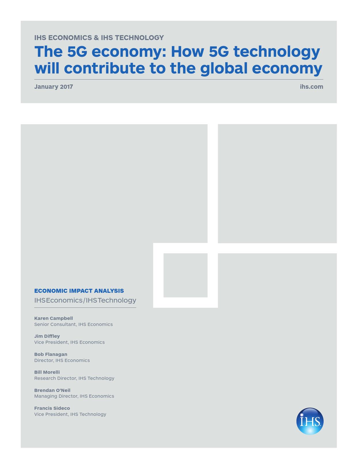 5G经济:5G将如何影响全球经济(附下载)