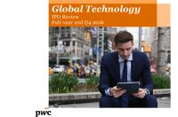 普华永道:2016年全球科技行业IPO调查报告(附下载)