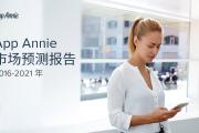 App Annie:2016–2021年全球移动应用市场预测报告