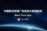 热云数据:2017年Q1中国移动广告效果类广告行业数据报告(附报告)