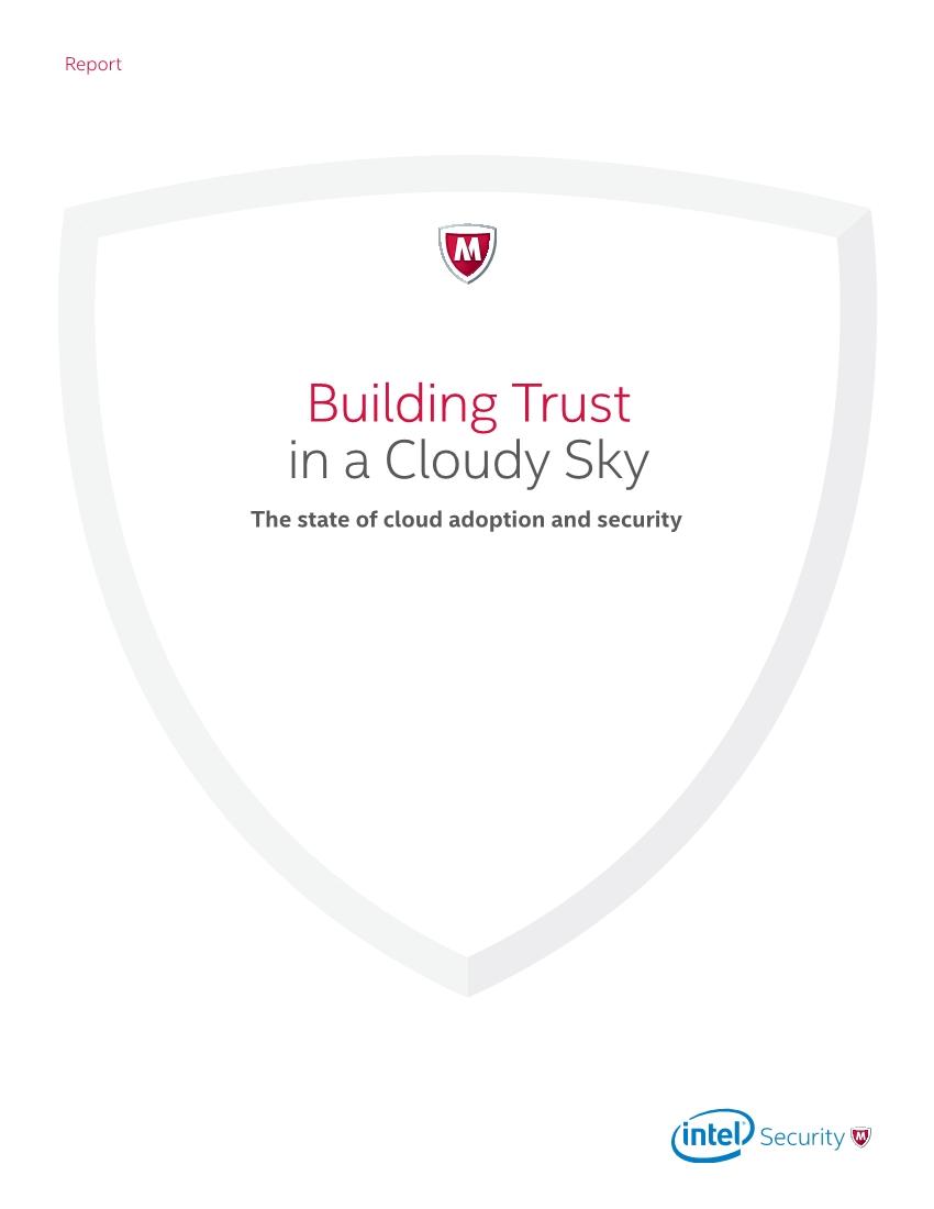 McAfee:2017年全球云计算安全报告