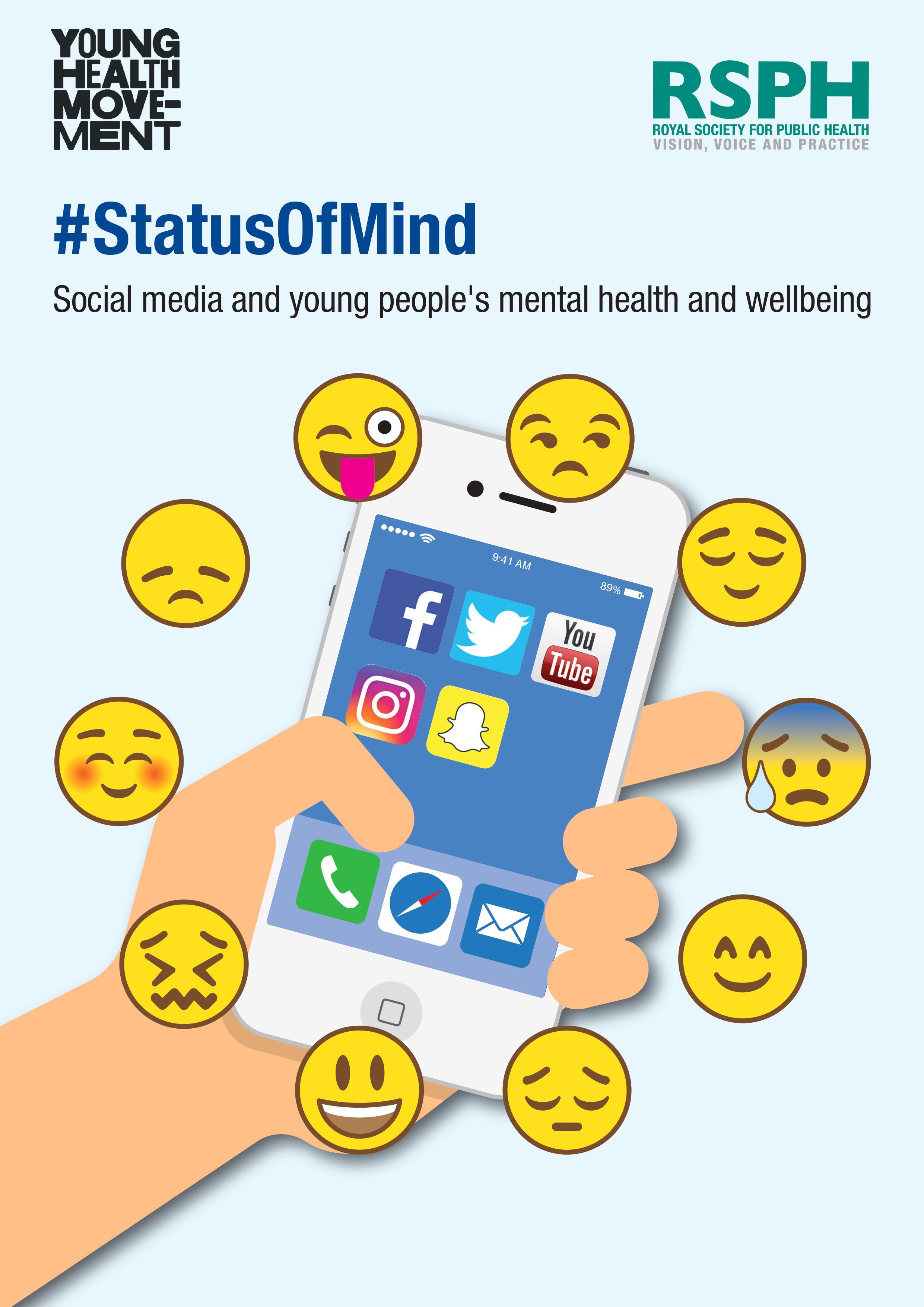 英国皇家公共卫生学院:社交媒体与年轻人精神健康