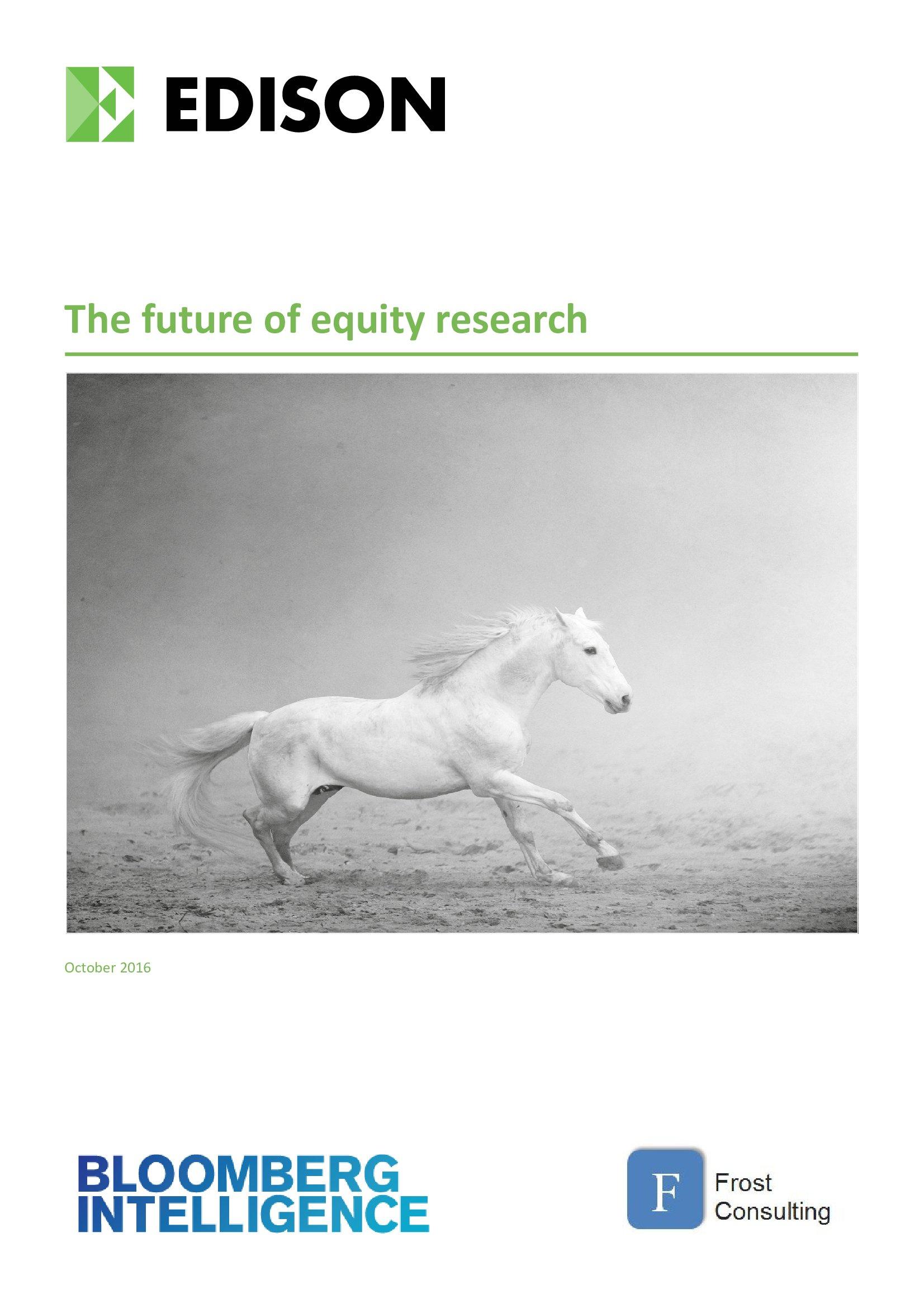 Edison Group:股权研究的未来