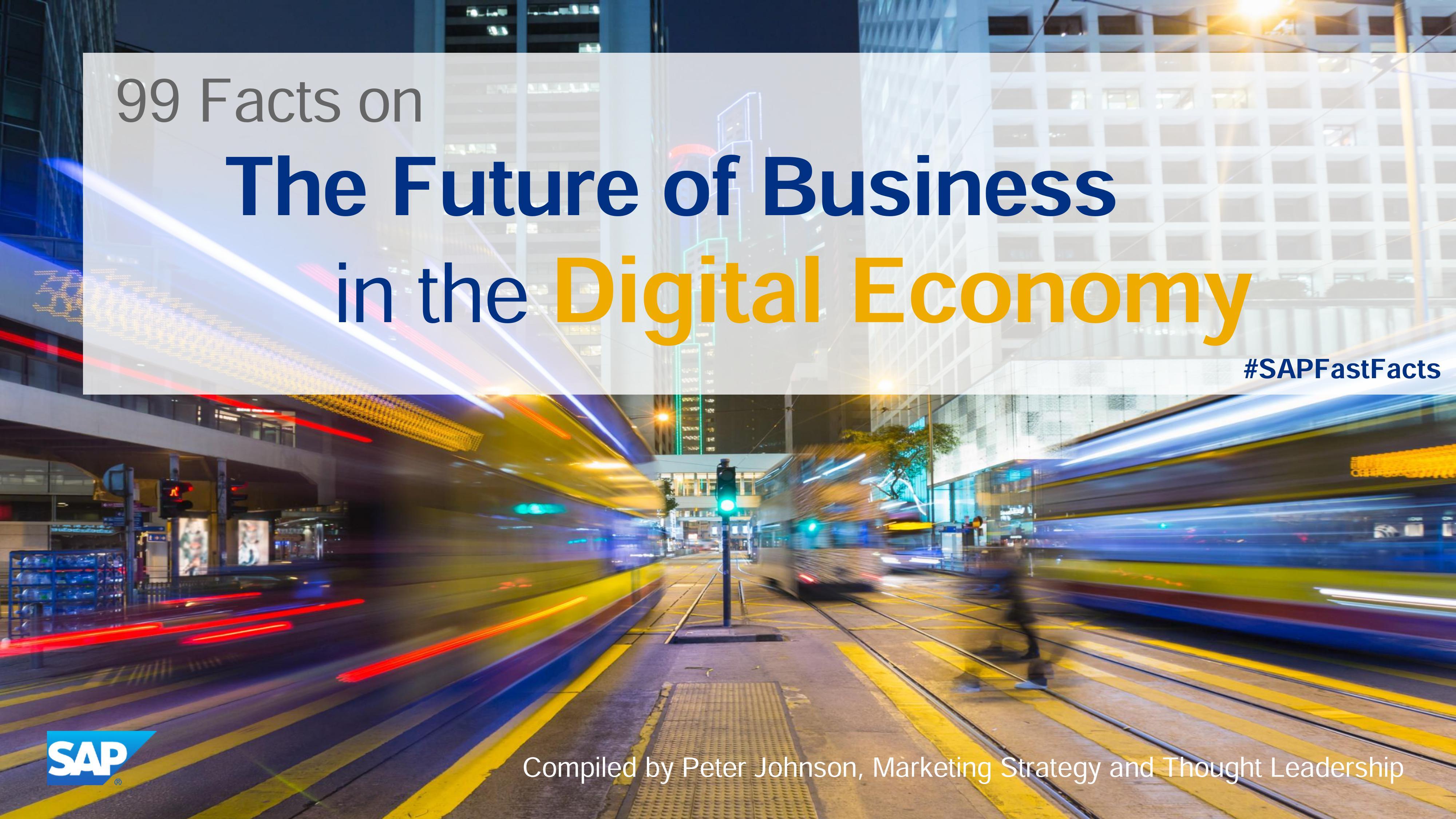 SAP:未来网络经济的99个趋势报告