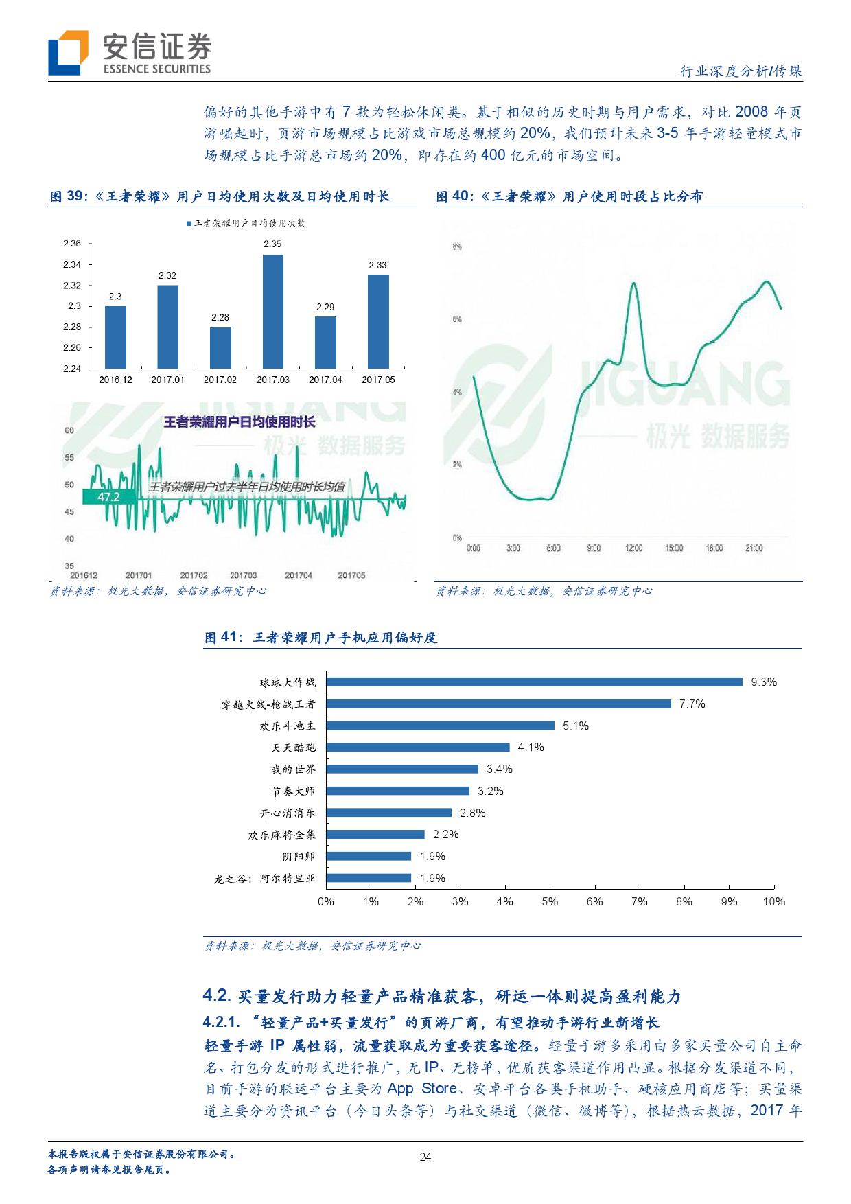 手机游戏行业报告:轻量产品+买量发行