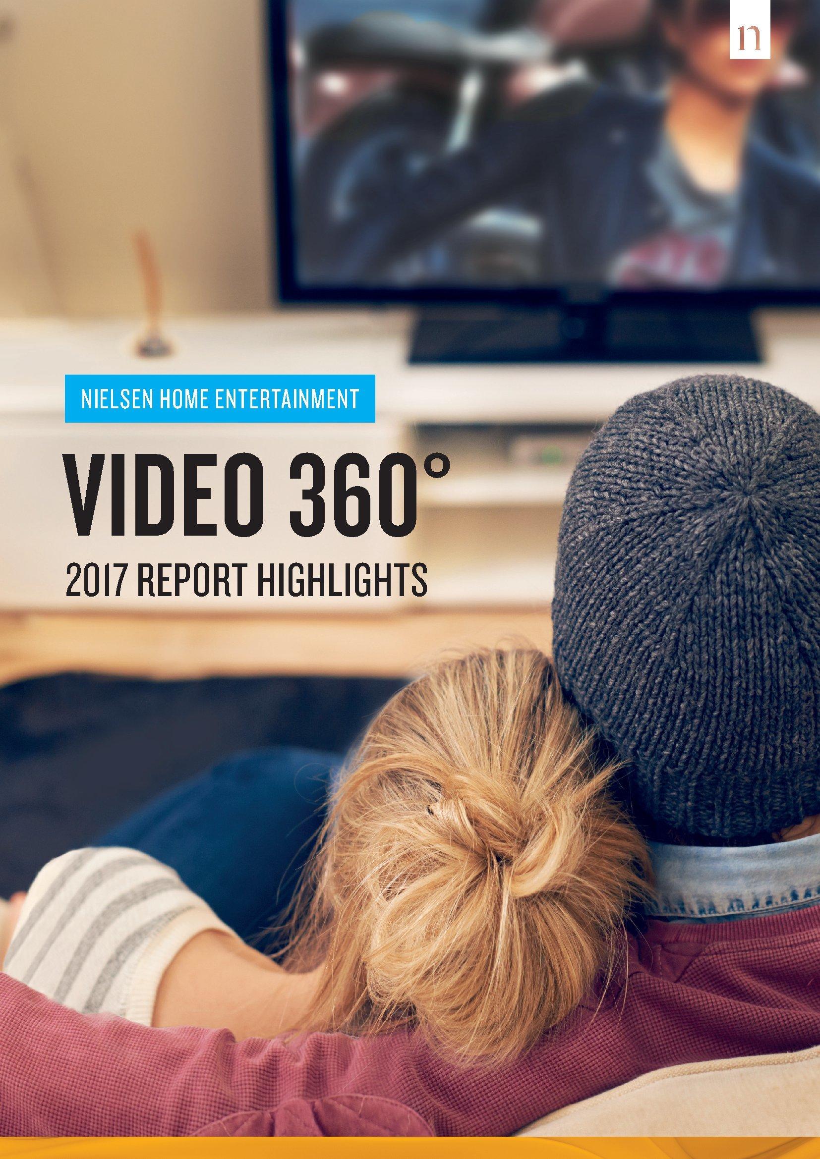 尼尔森:2017家庭娱乐之视频360度报告