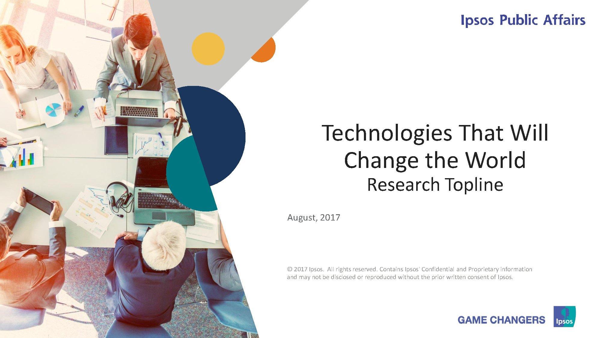 益普索:将改变世界的高科技