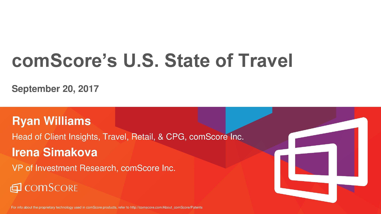 comScore:2017年旅游报告