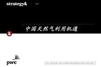 思略特:中国天然气利用机遇(附下载)