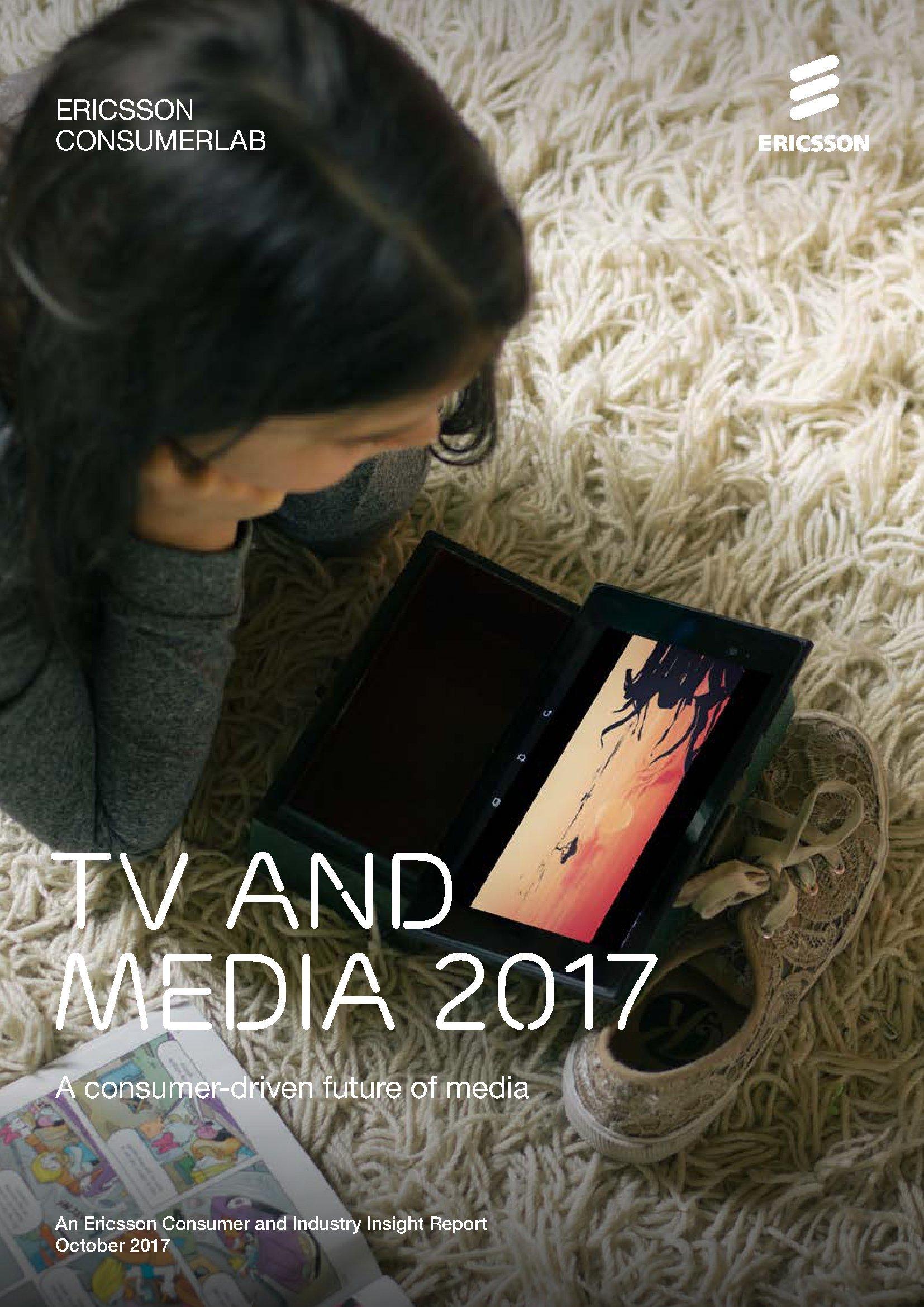 爱立信:2017年电视和媒体报告