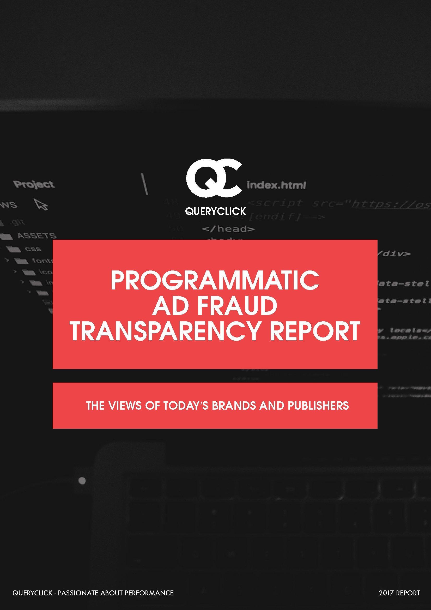 QUERYCLICK:广告程序化购买欺诈透明报告