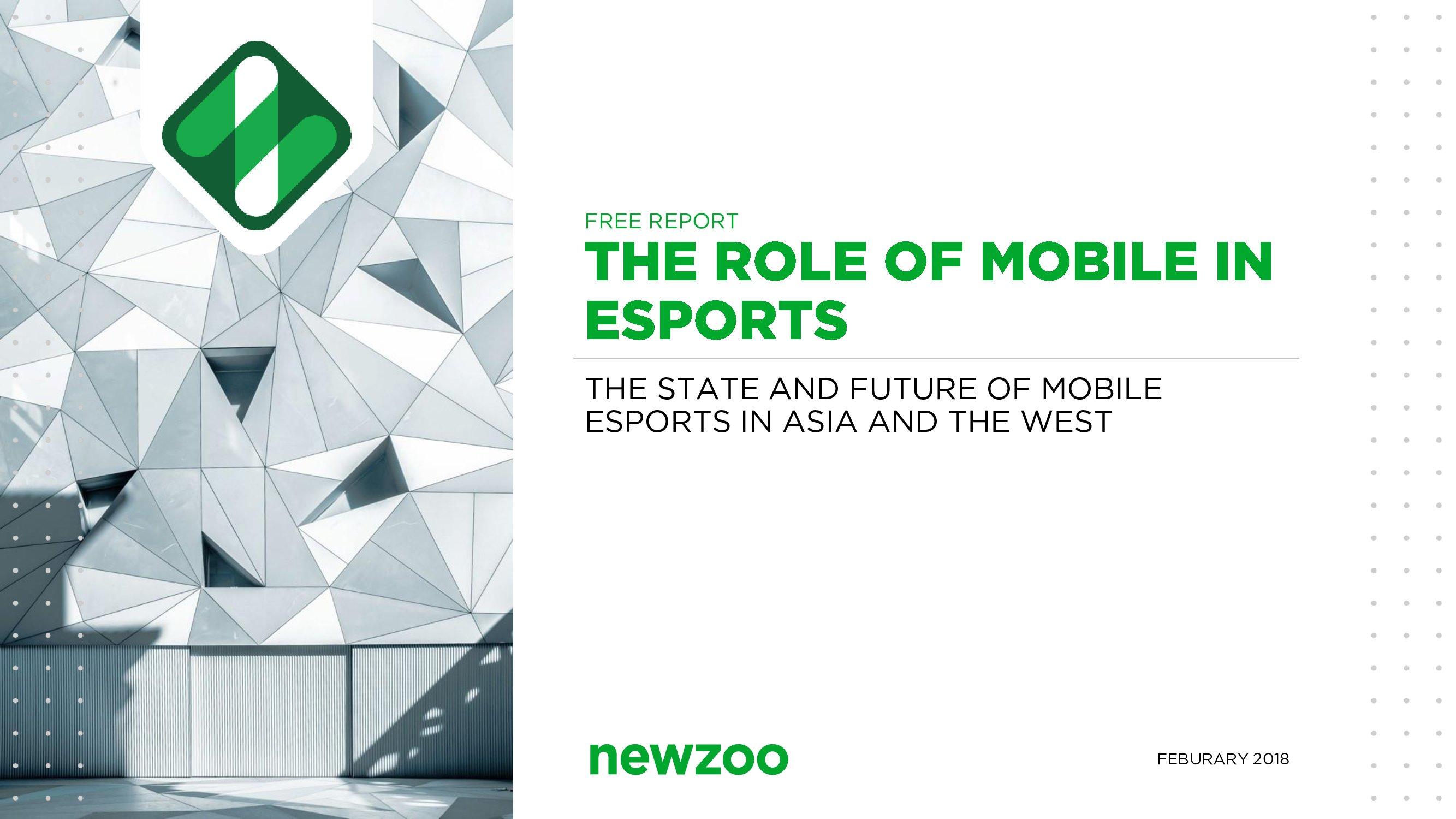 Newzoo:移动在电子竞技中的作用