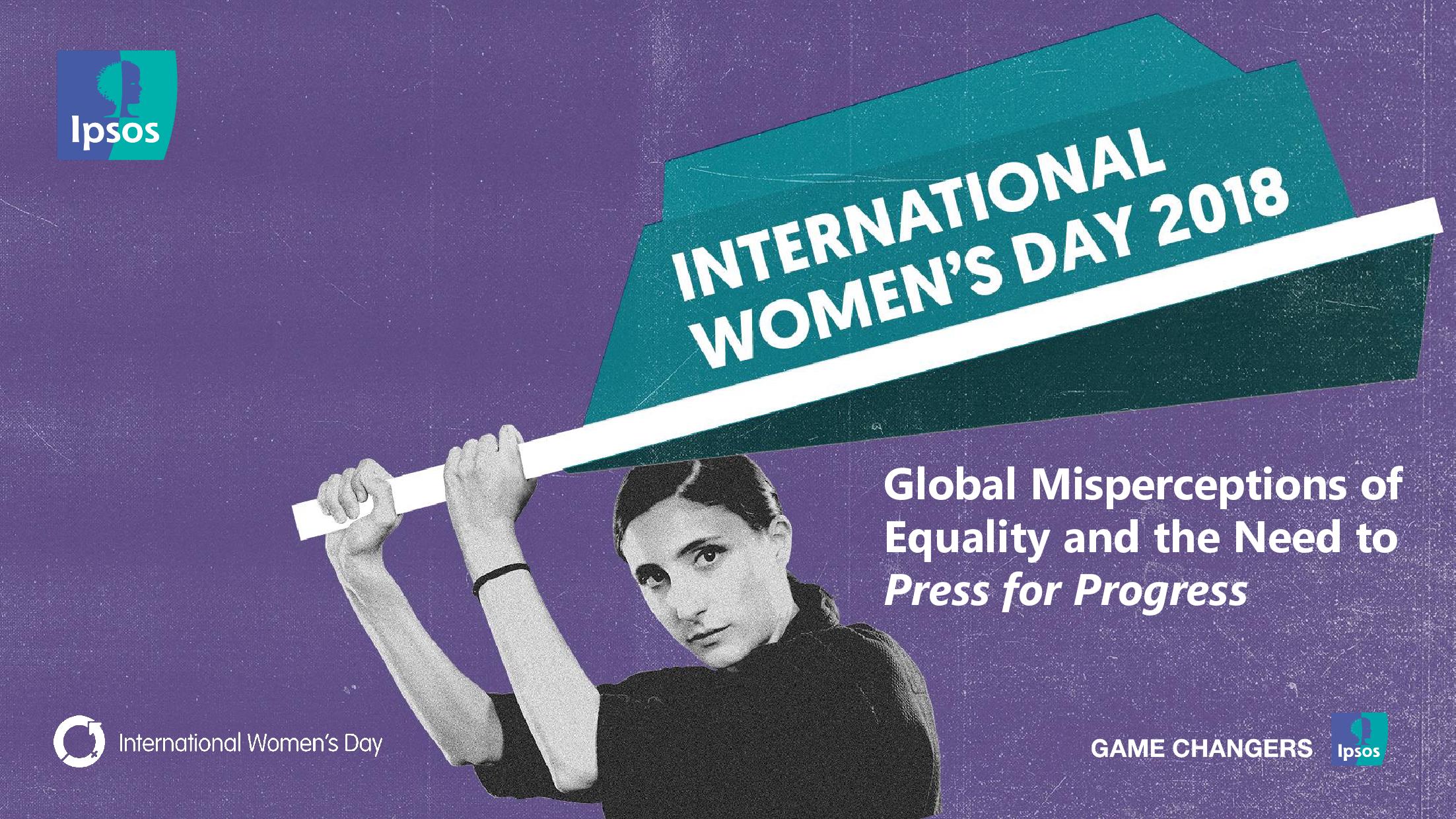 国际妇女节:全球对平等的错误认识以及对新闻进步的需求报告(附下载)