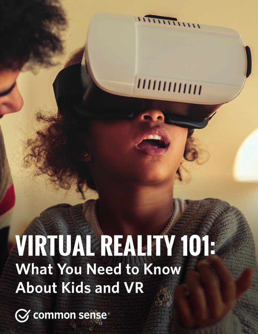 虚拟现实101研究报告:儿童体验VR设备行为分析