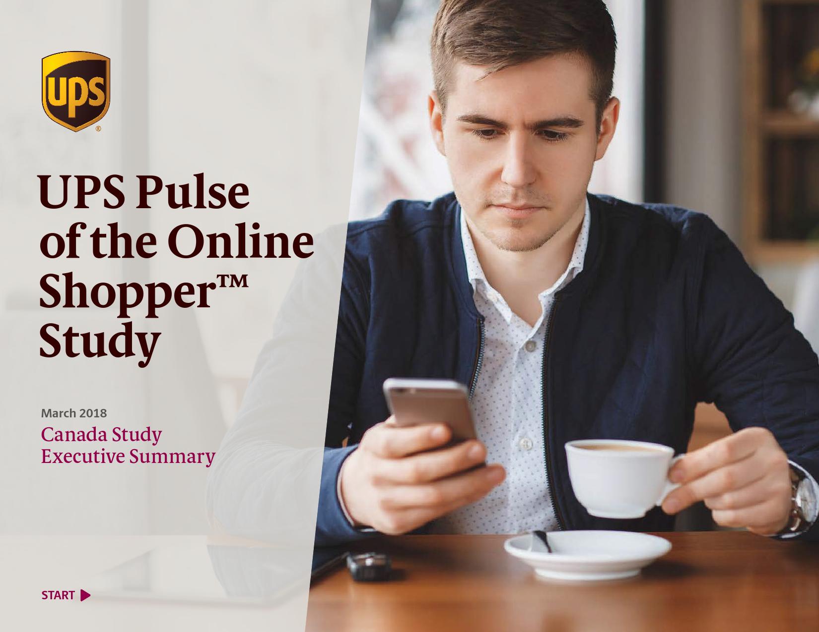UPS:2018年网购消费者行为调查报告
