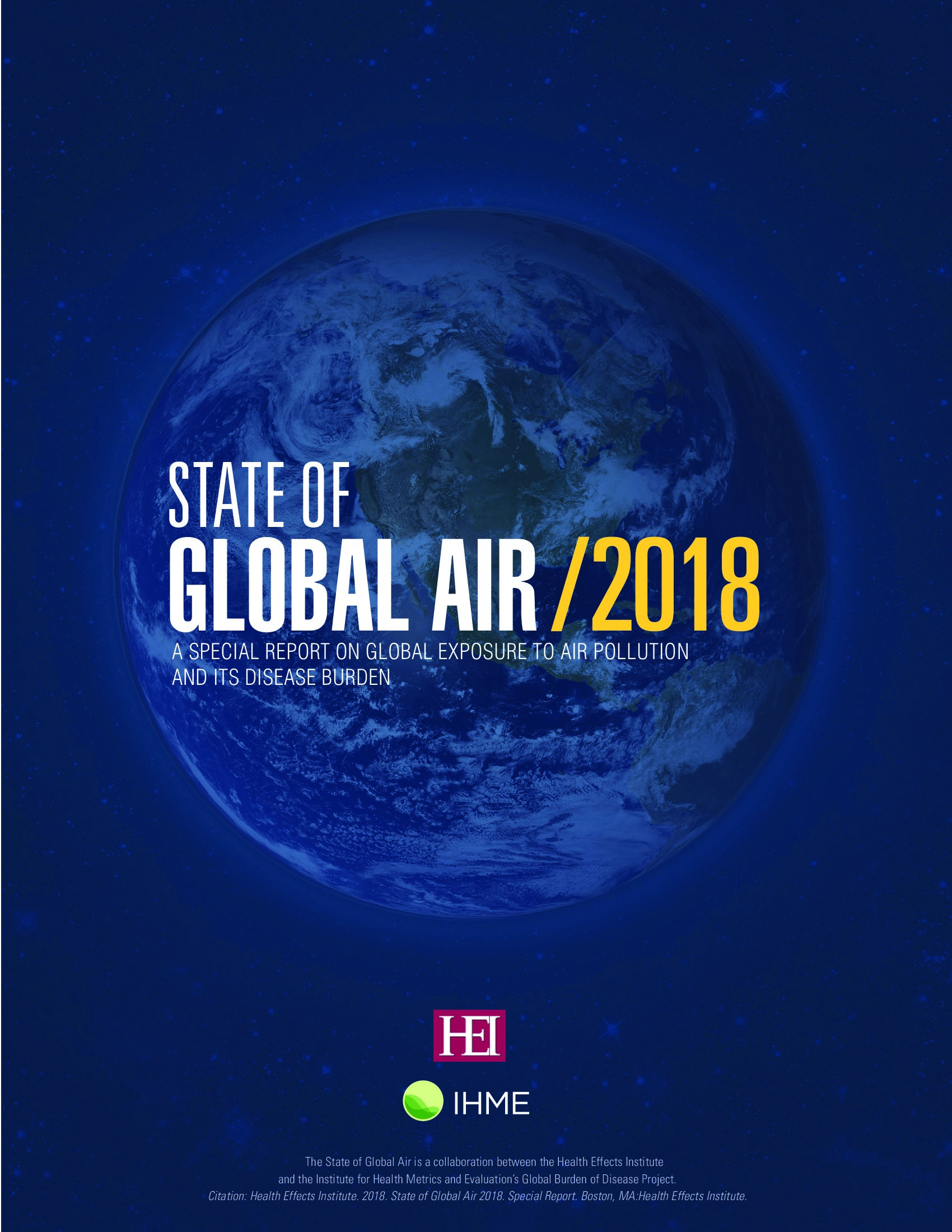 IHME:2018全球空气状况报告