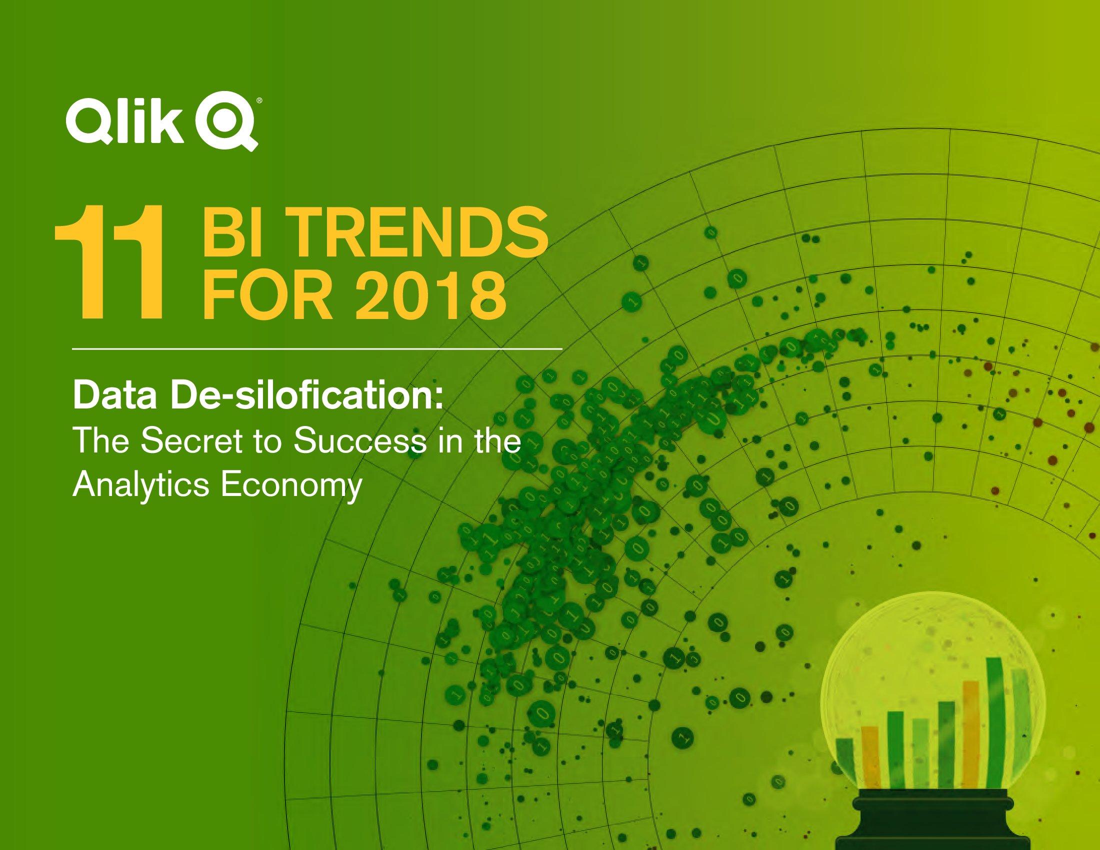 Qlik:2018年商业智能(BI)报告