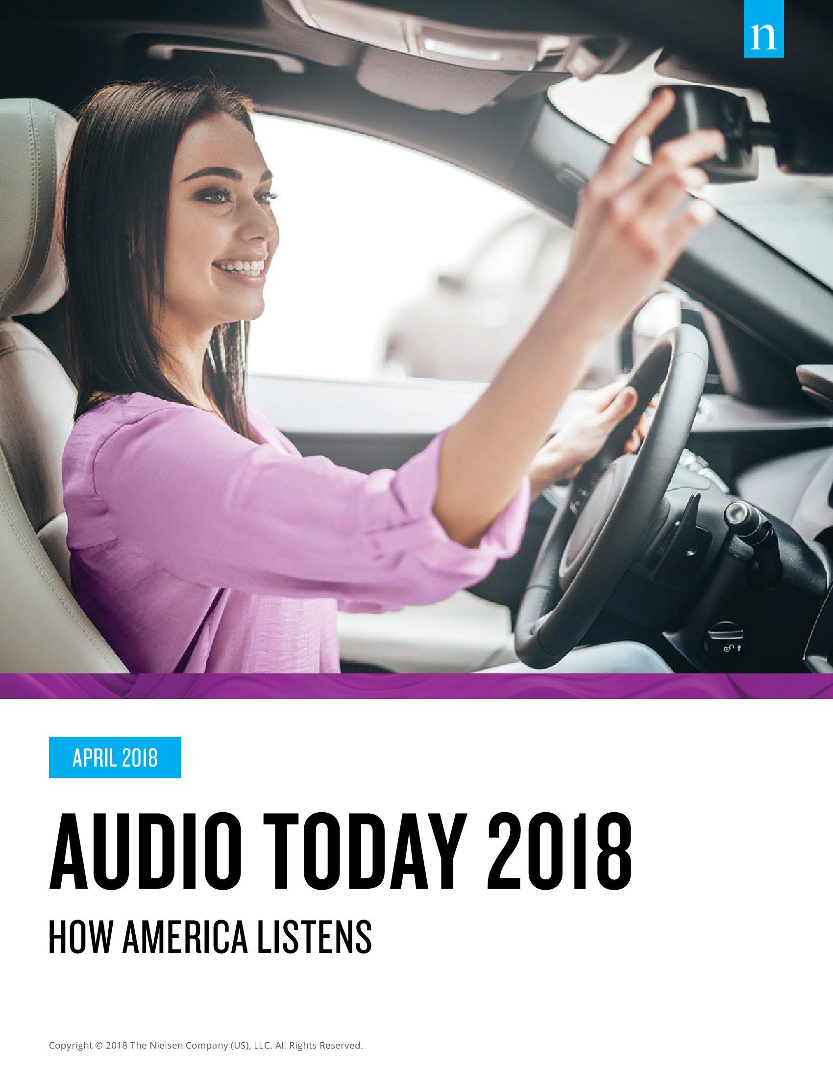 Nielsen:2018年美国音频用户研究报告