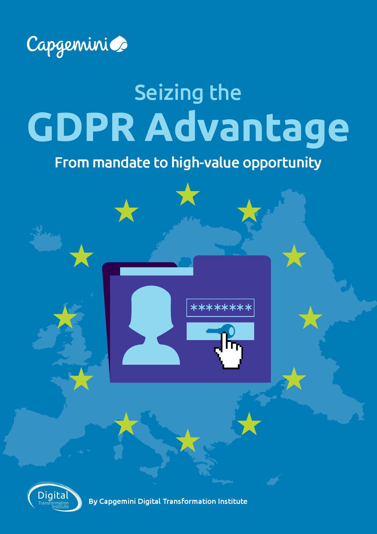 凯捷:抓住欧盟《通用数据保护条例》GDPR带来的先机