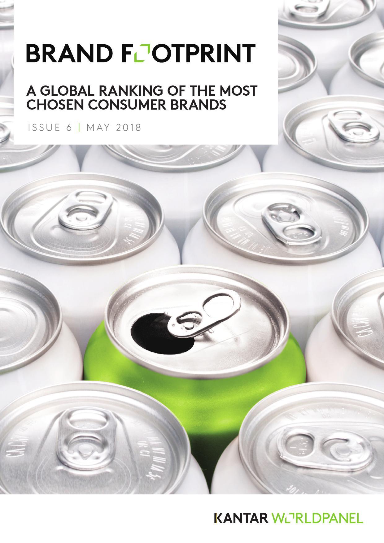 凯度消费者指数:2018全球品牌足迹报告
