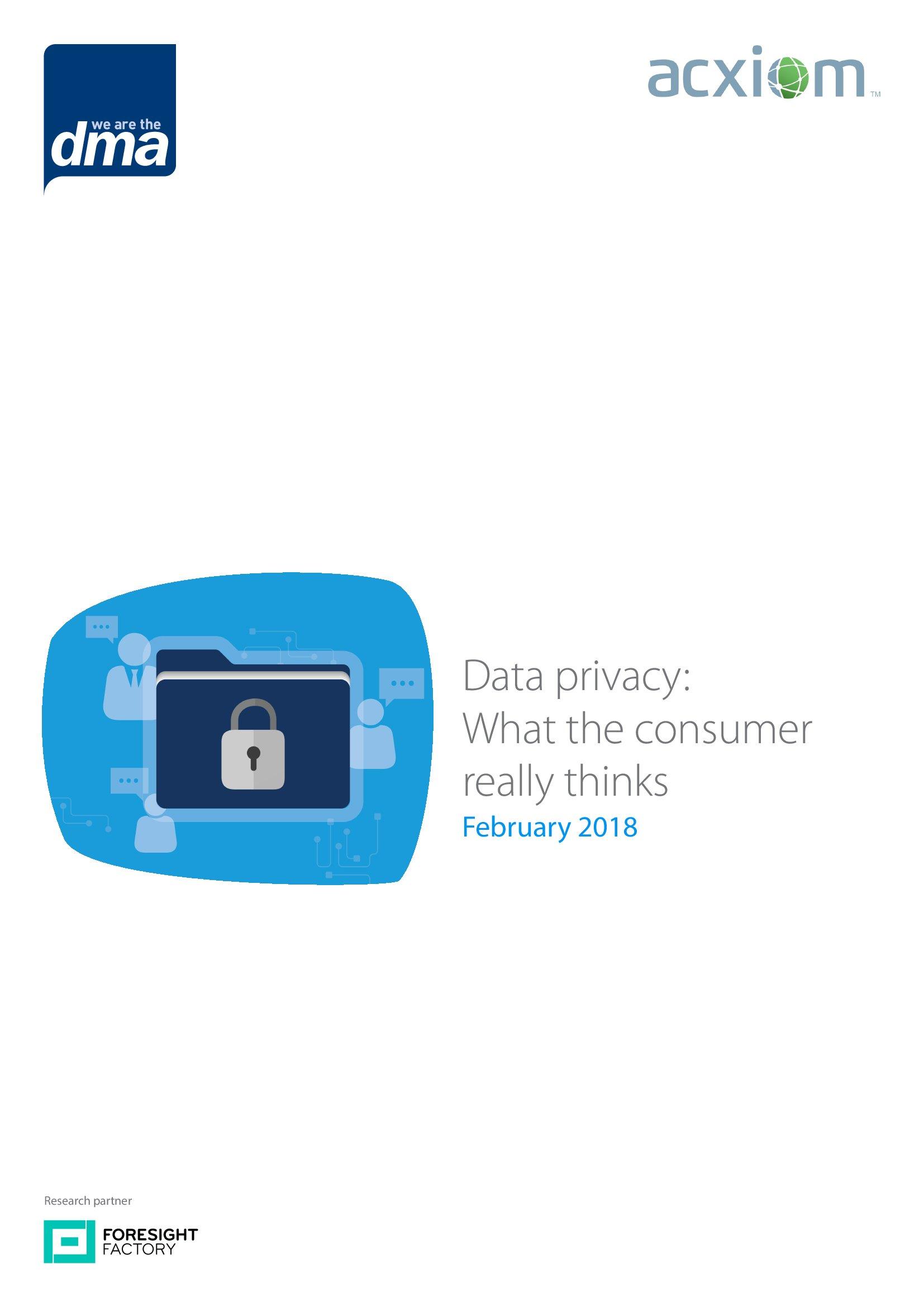数据隐私报告:消费者真正的想法