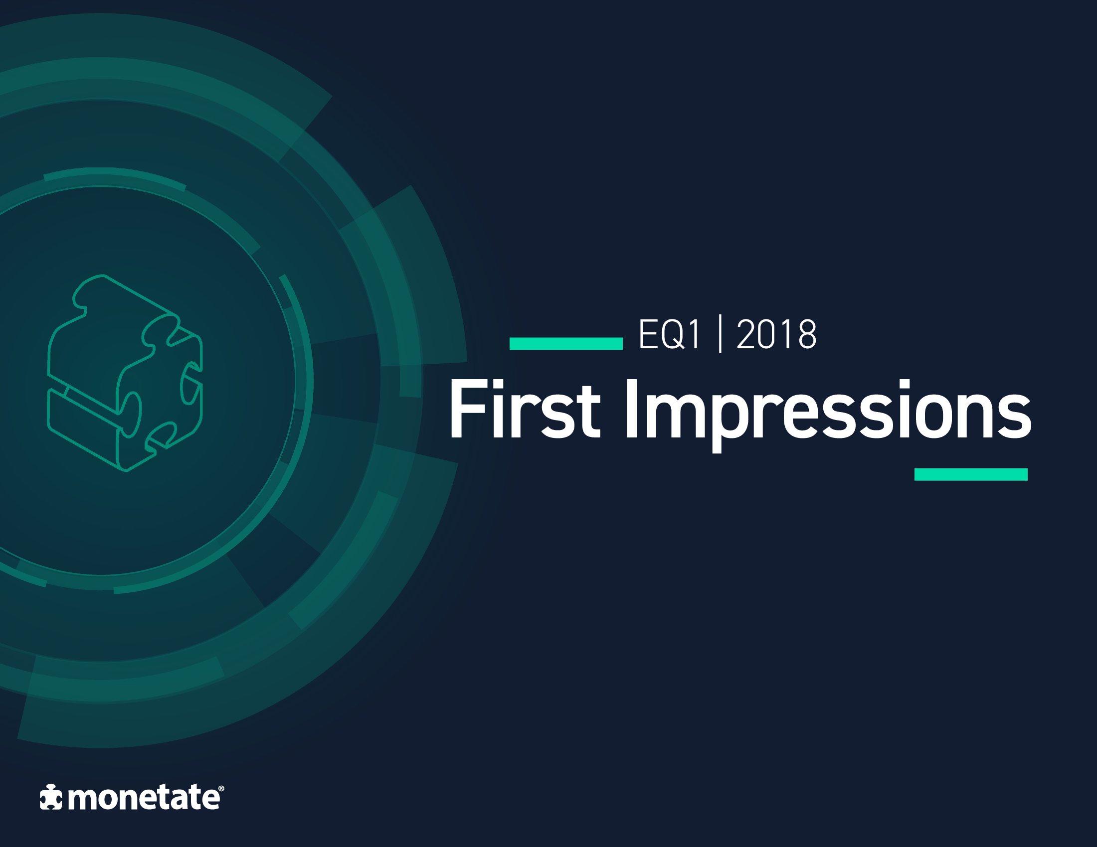 Monetate:2018年Q1电子商务报告