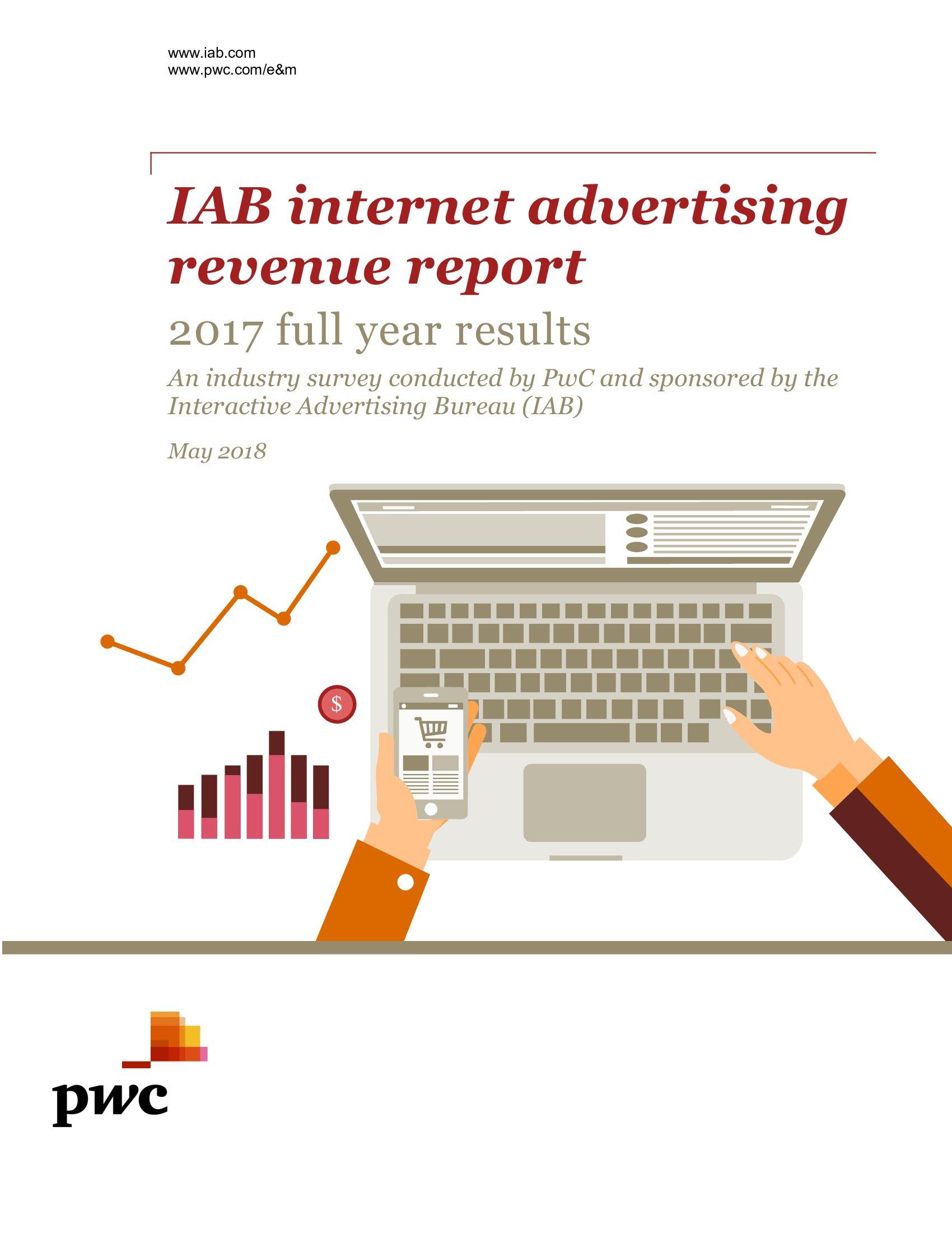 IAB:2017年美国网络广告收入报告
