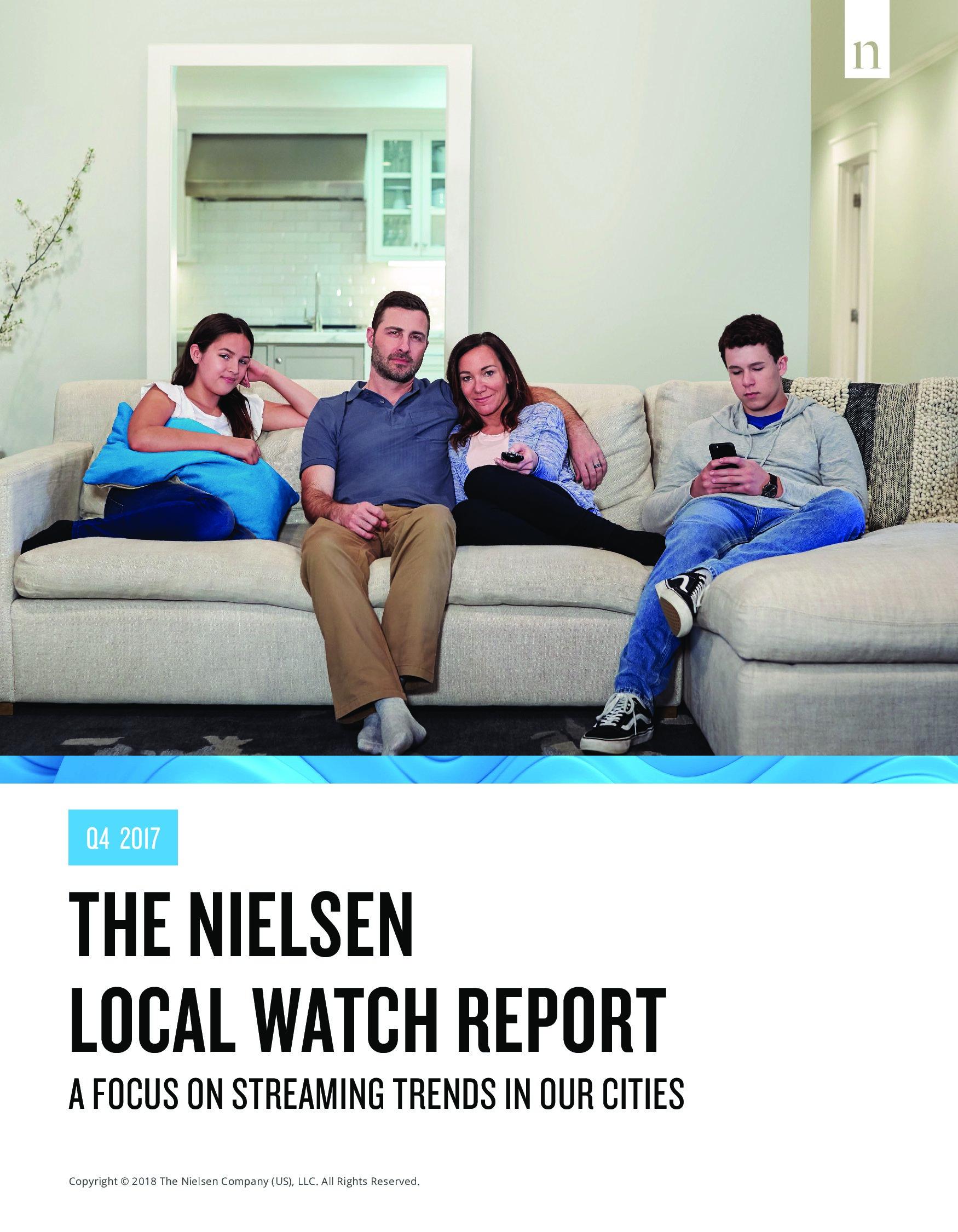 尼尔森:美国本地收视报告