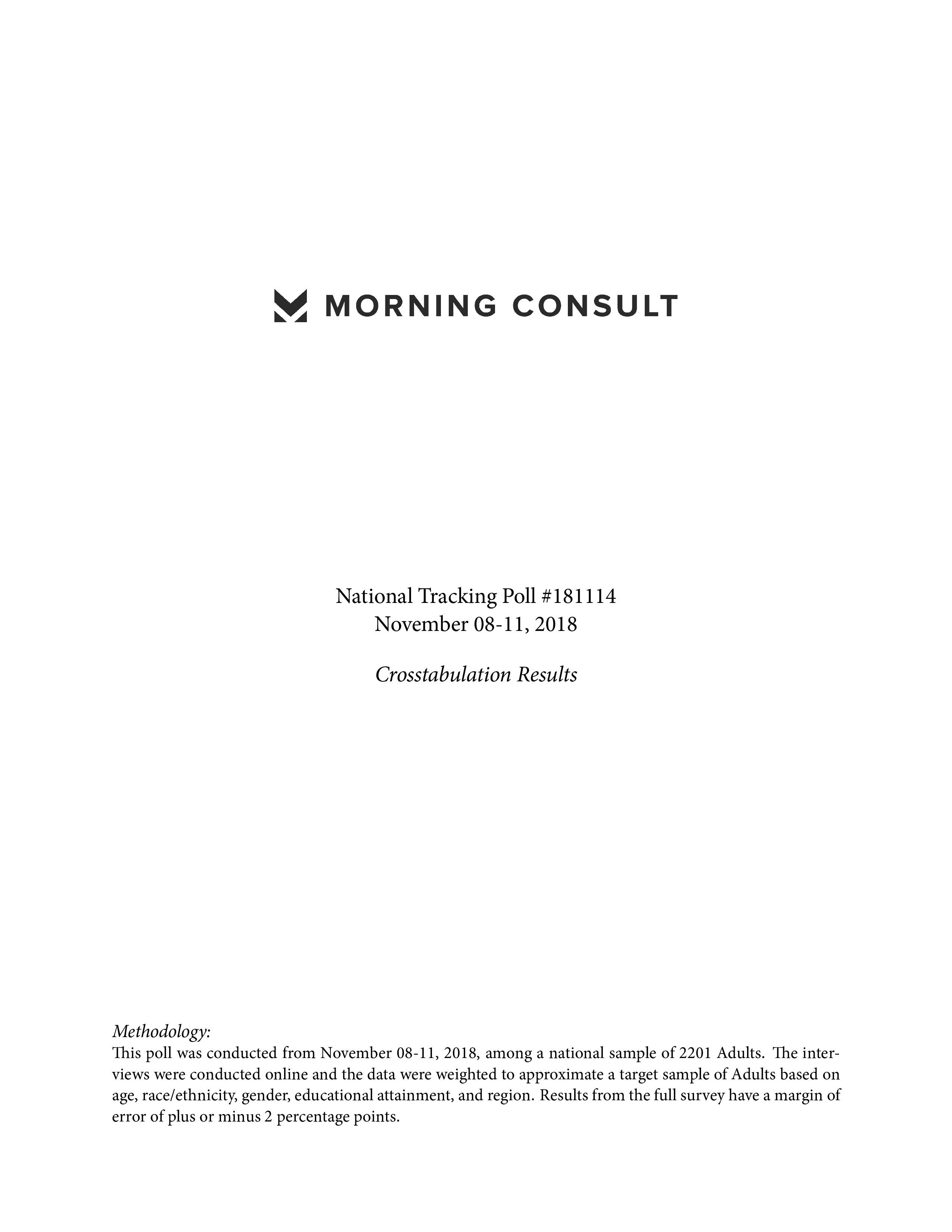 Morning Consult:2018年美国智能手机用户调查报告
