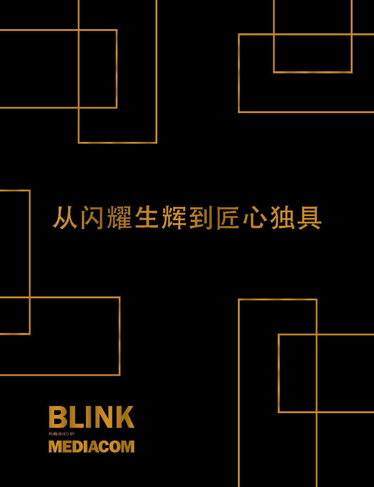 "BLINK:从""闪耀生辉""到""匠心独具"""