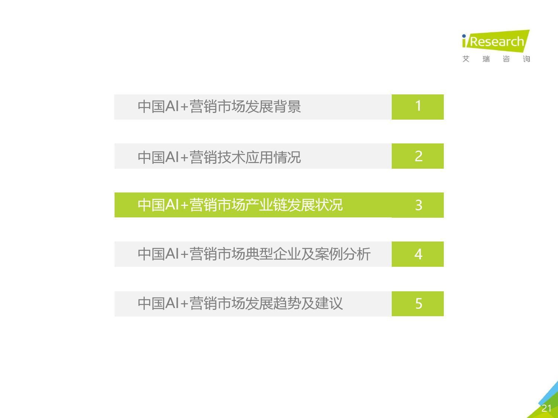 艾瑞咨询:2018年中国AI+营销市场研究报告-CNMOAD 中文移动营销资讯 21