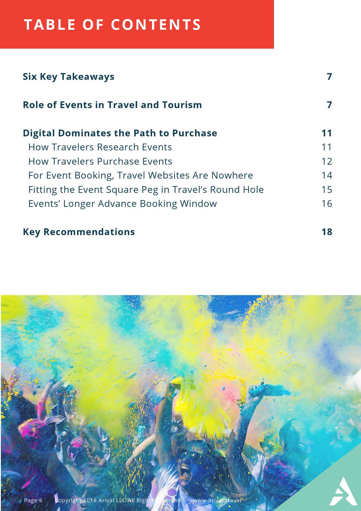 Arival:2018年旅游演艺及赛事活动研究报告